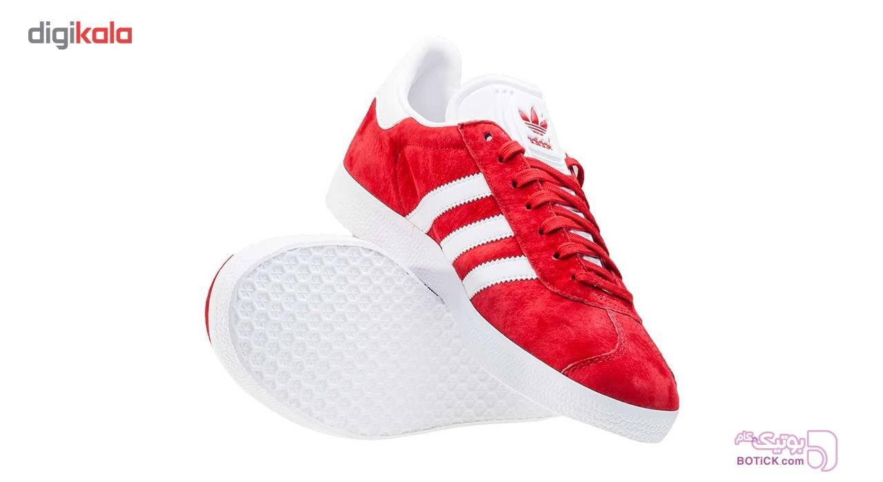 کفش راحتي مردانه آديداس مدل Gazelle قرمز كتانی مردانه