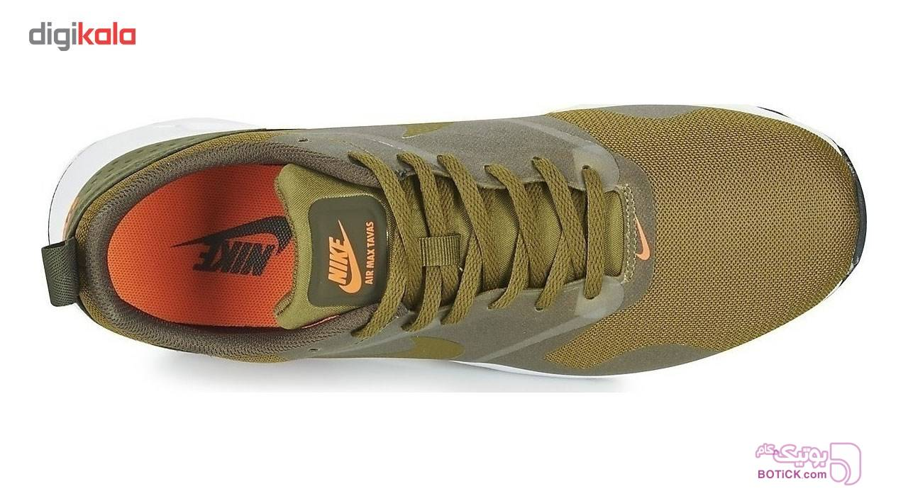 کفش مخصوص دويدن مردانه نايکي مدل Air Max Tavas سبز کفش ورزشی