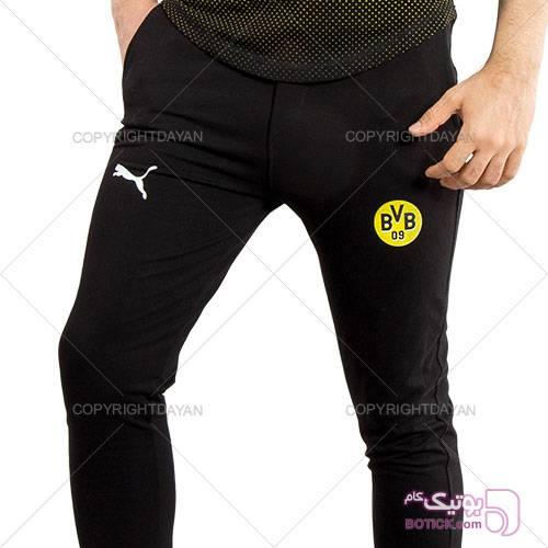 ست تیشرت و شلوار Puma مدل B.Dortmund مشکی ست ورزشی مردانه