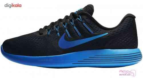 کفش مخصوص دويدن مردانه نايکي مدل Lunarglide 8 آبی کفش ورزشی