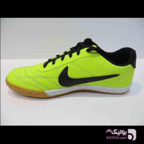 نایک سالنی سبز فسفری فوتسال زرد کفش ورزشی