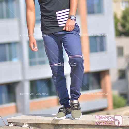 شلوار اسلش مردانه مدل WXURY (سرمه ای) سورمه ای شلوار مردانه