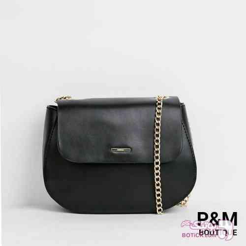 کیف bershka مشکی كيف زنانه