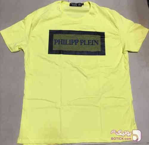 تیشرت سایزبزرگ زرد سایز بزرگ مردانه