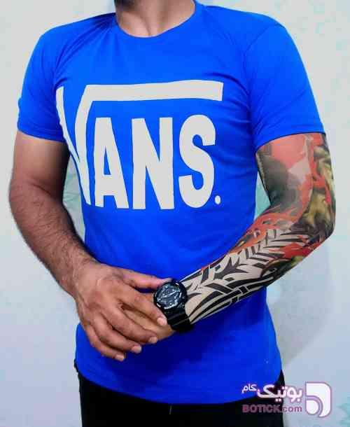 تیشرت مردانه آبی تی شرت مردانه