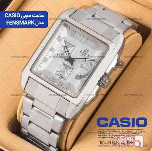 ساعت مچی Casio  نقره ای ساعت