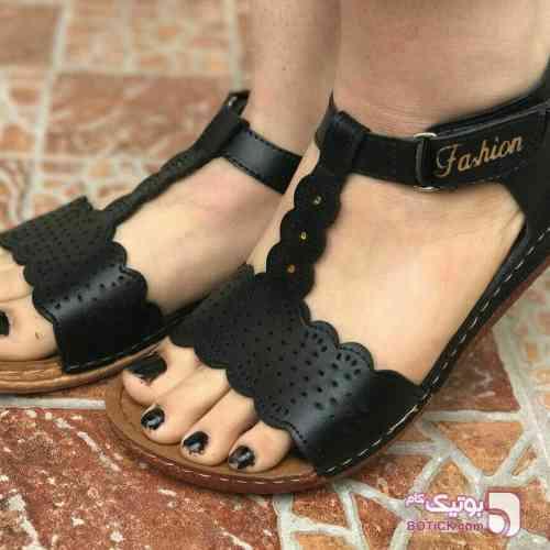 کفش زنانه تابستانی مشکی صندل زنانه