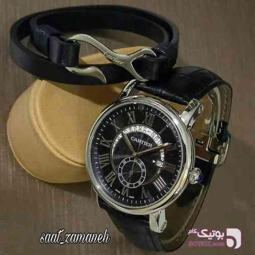 Cartier مردانه مشکی ساعت