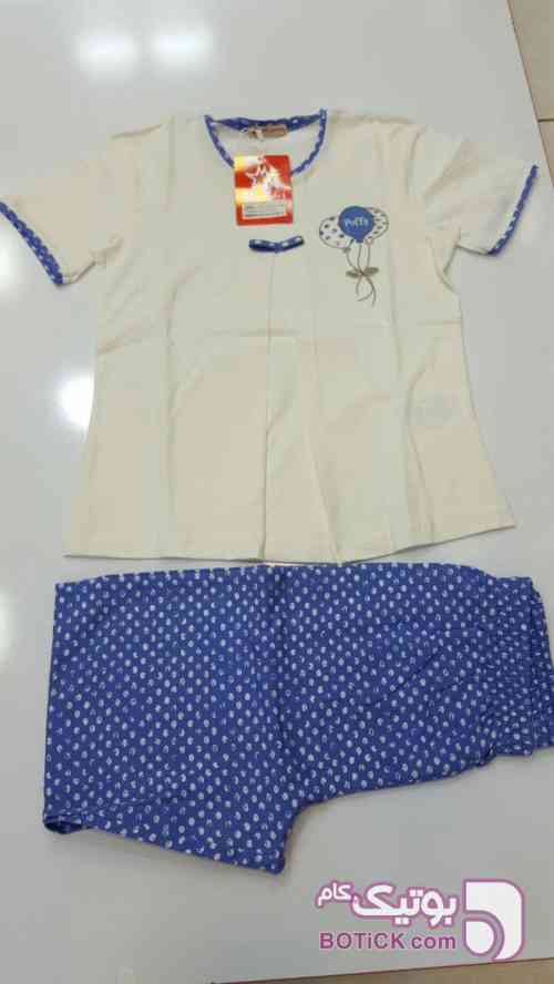 ست بچگانه ایکی یلدیز کارت ضمانت 3 ماهه آبی لباس کودک دخترانه