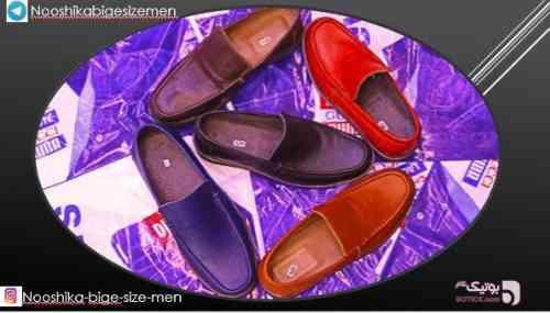 کفش مردانه سایز بزرگ مشکی كفش مردانه