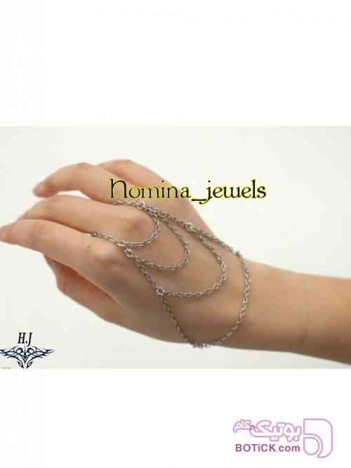 دستبند انگشتی کد 028 زرد دستبند و پابند