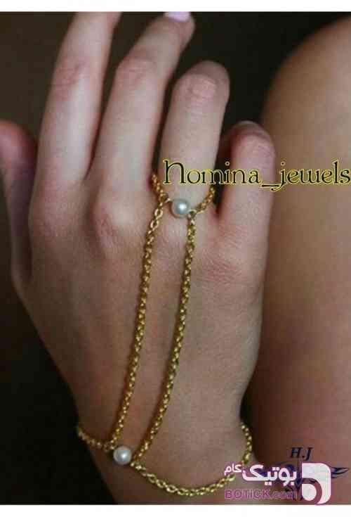 دستبند استیل سفارشی کد 030 نقره ای دستبند و پابند