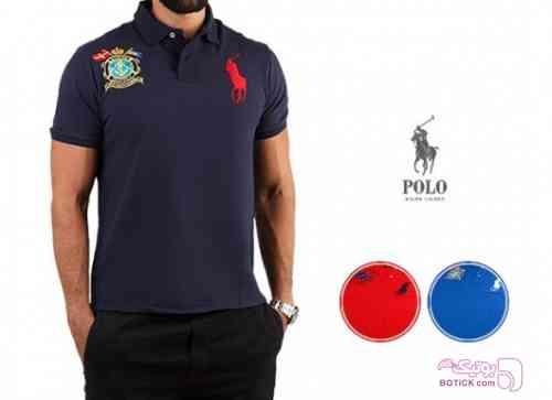 پولوشرت مردانه Polo Ralph Lauren آبی تی شرت مردانه