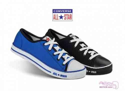 کفش طرح Converse آبی كتانی مردانه