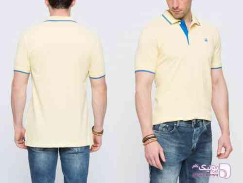 تی شرت مردانه LCWAIKiKI زرد تی شرت مردانه
