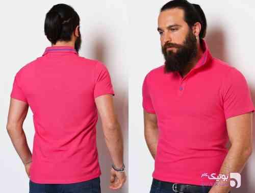 تی شرت Sateen قرمز تی شرت مردانه