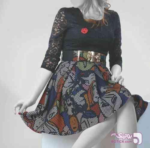 لباس عروسکی خاص مشکی لباس  مجلسی