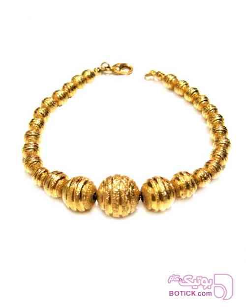 دستبند توپی هندی زرد دستبند و پابند