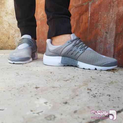 کفش رویه بافت نایک پرستو طوسی کفش ورزشی