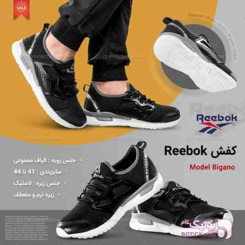 کفش Reebok مشکی كتانی مردانه
