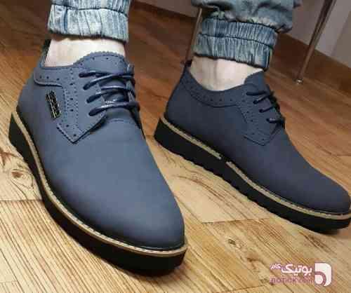 کفش شیک مردانه فیروزه ای كفش مردانه