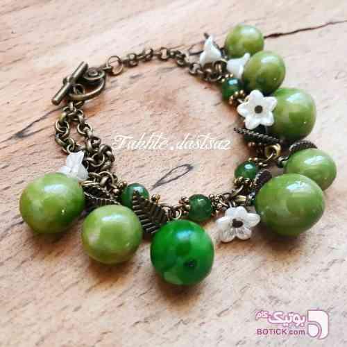 دستبند های آلوچه سبز دستبند و پابند