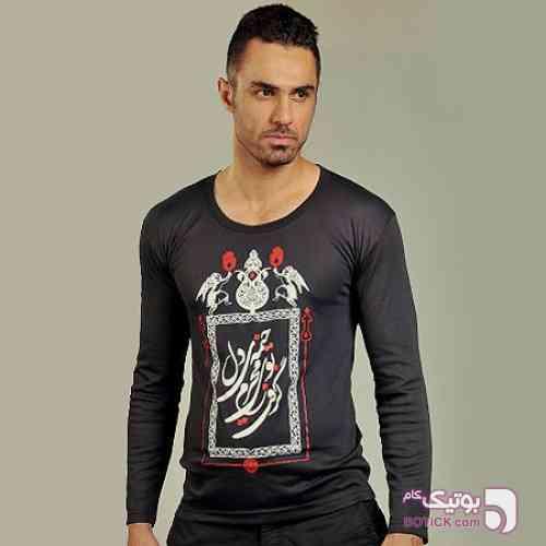 تی شرت محرم (طرح عرشیان) مشکی تی شرت مردانه