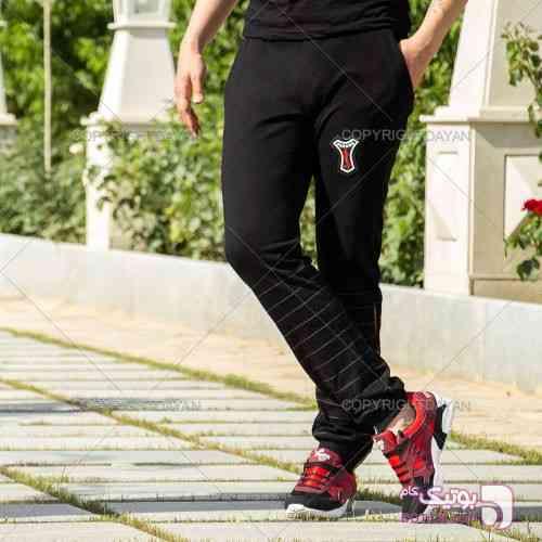 ست شلوار Havana و کفش Portis(قرمز) مشکی شلوار مردانه