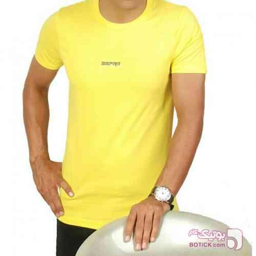 تیشرت مردانه زرد 96 2017