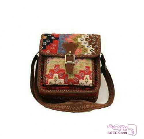 کیف کوچک جاجیمی سبز كيف زنانه