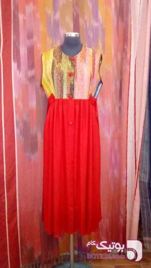 سارافون سبز لباس سنتی