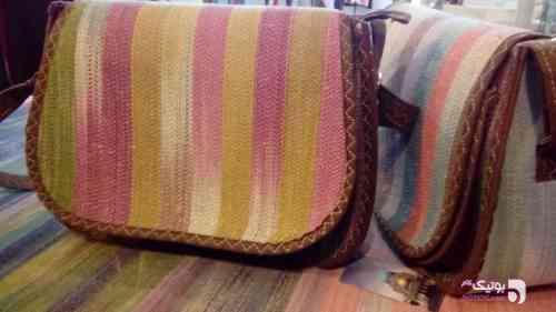 کیف دوشی دارایی سبز كيف زنانه