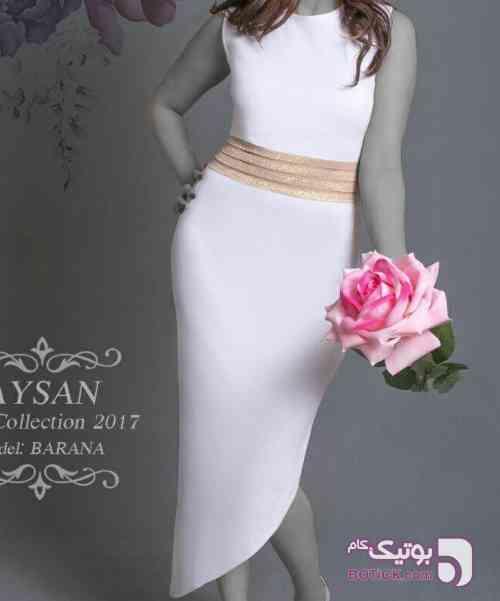 سارافون مجلسی مدل بارانا مشکی لباس  مجلسی