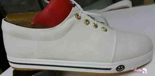 کفش اسپرت زنانه سفید سفید كتانی زنانه