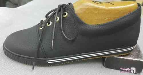 کفش اسپرت زنانه مشکی مشکی كتانی زنانه