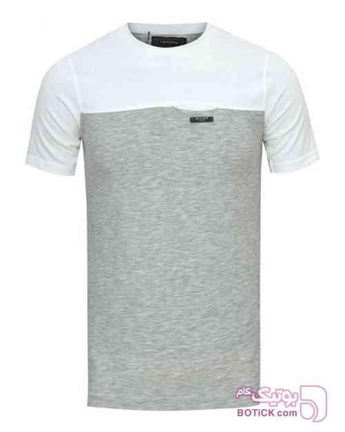 تیشرت نخی مردانه نقره ای تی شرت مردانه