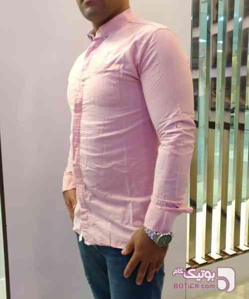 پیراهن صورتی پيراهن مردانه