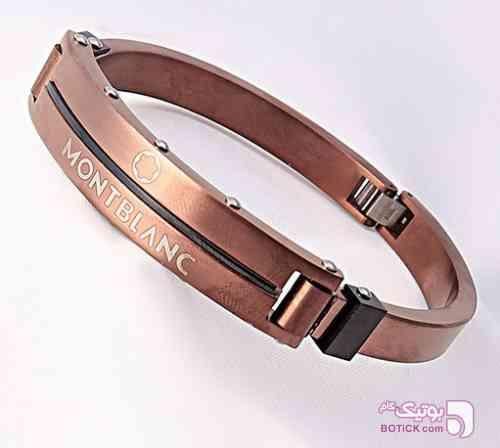 دستبند استیل MONTBLANC طلایی دستبند و پابند
