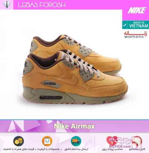 Nike Airmax 90 PRM قرمز كتانی زنانه