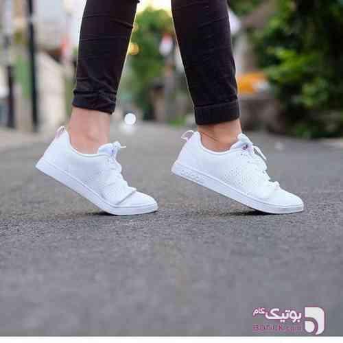 Adidas, cloudfoam advantage سفید كتانی زنانه