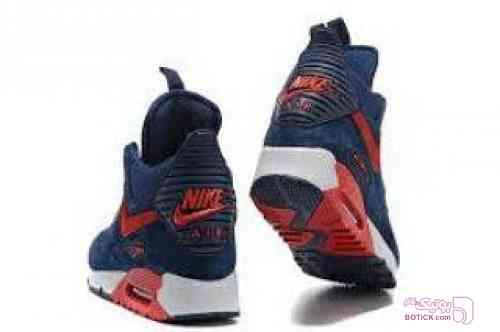 Nike air sneaker boot ice آبی كتانی مردانه