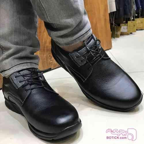 کفش کیاک مشکی كفش مردانه