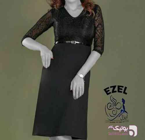 پیراهن مجلسی زنانه مشکی لباس  مجلسی