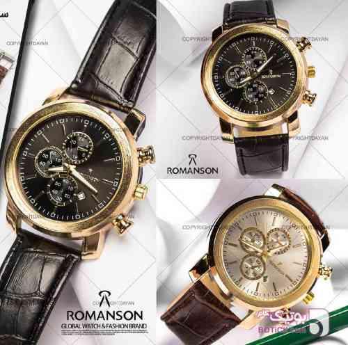 ساعت مچی برند Romanson مشکی ساعت
