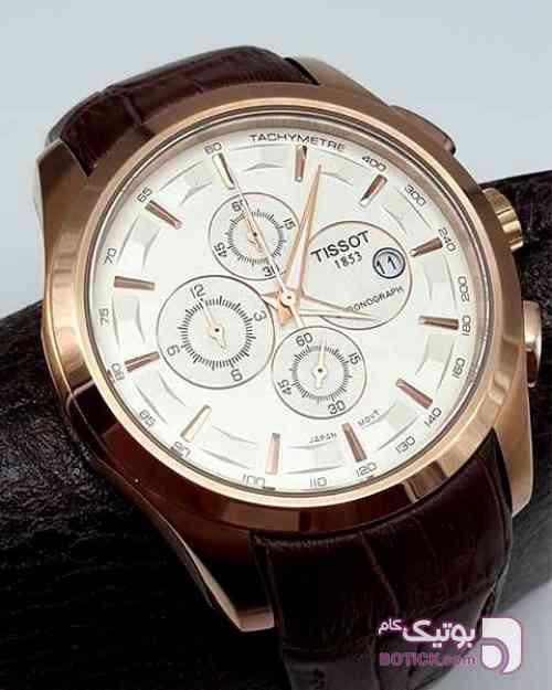 ساعت TISSOT مدل T035 مردانه سه موتوره کورنوگراف مشکی ساعت