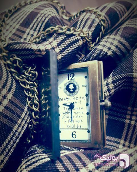 آویز ساعت QUARTZ مدل D2287 طلایی ساعت