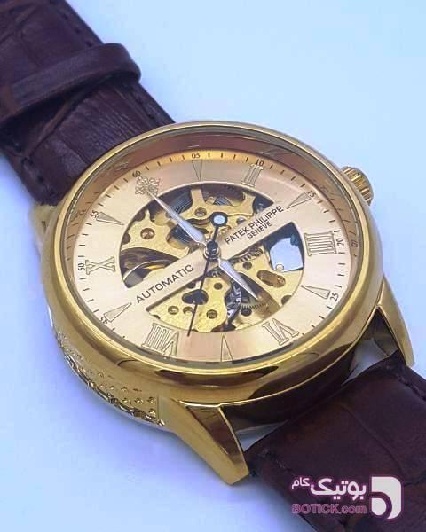 ساعت PATEK PHILIPPE GENEVE P83000 (اسکلتون) قهوه ای ساعت