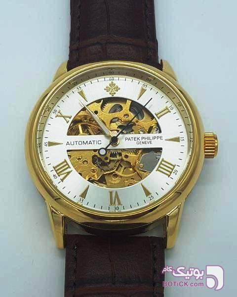 ساعت PATEK PHILIPPE GENEVE 756033 (اسکلتون) مشکی ساعت
