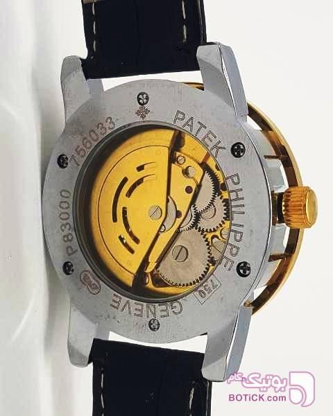 ساعت PATEK PHILIPPE GENEVE BLACK (اسکلتون) طلایی ساعت