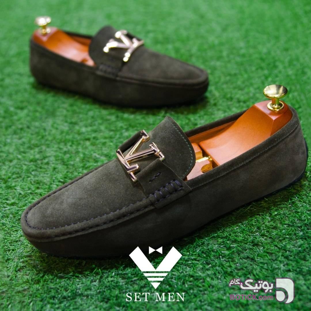 کفش مردانه سبز كفش مردانه
